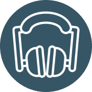 Hearing protection icon