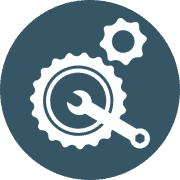 Spares and repairs icon